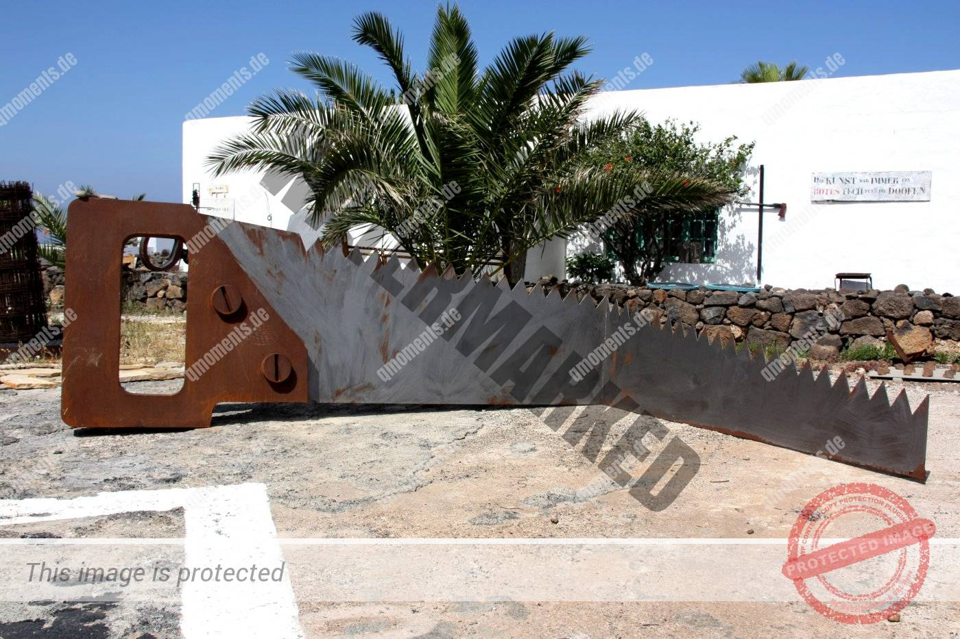 Kunst von Noss auf Lanzarote